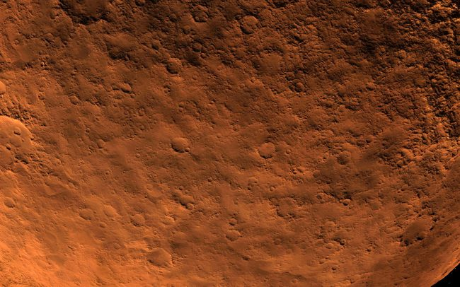 what's in mars soil