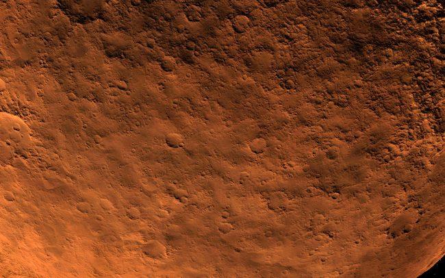 what's in mars soil